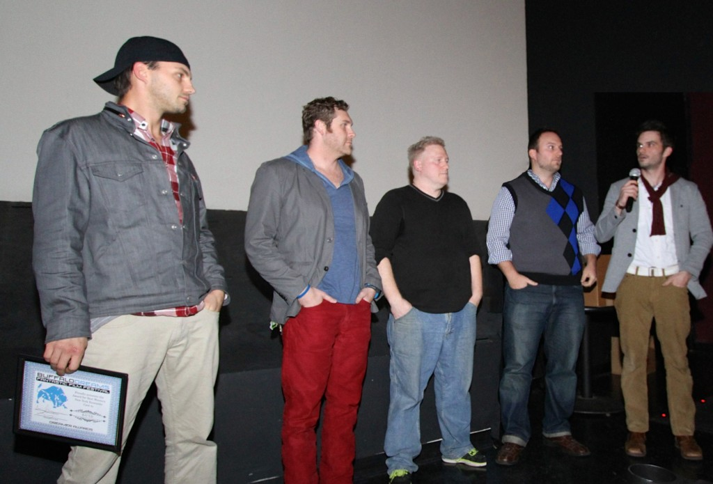 B.O.Y.D. Best Western New York Ensemble Cast:(Left to Right) Kyle Scritchfield, Christopher Brechtel, Greg Lamberson, Christopher Scherr and Christopher Marriott