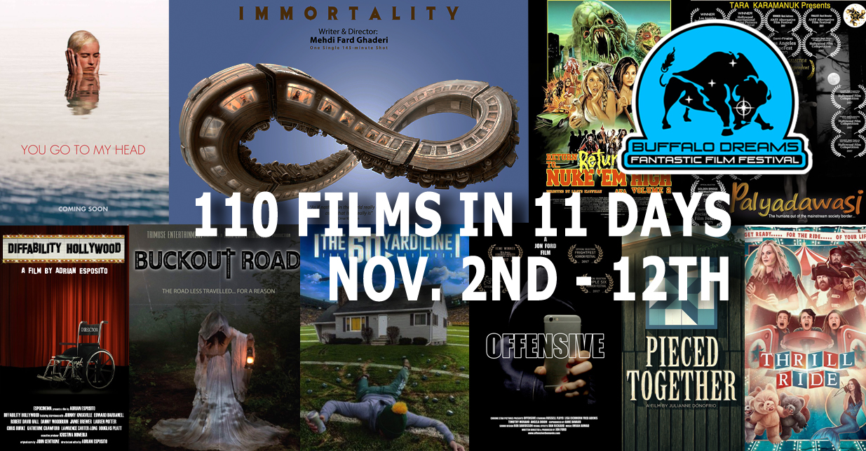 110 Films in 11 Days at Buffalo Dreams 2017