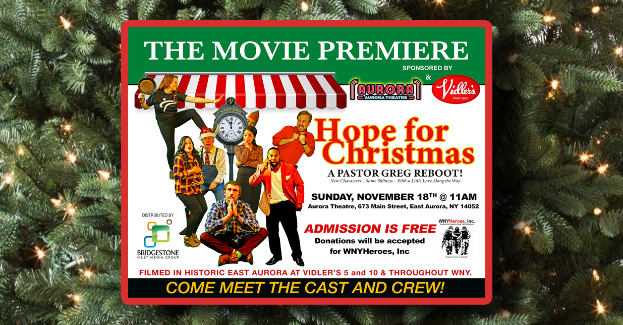 """HOPE FOR CHRISTMAS"" Premieres This Sunday at 11am at Aurora Theatre"